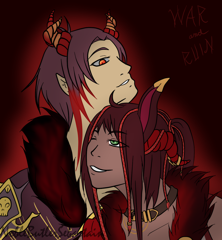 War and Ruin by NobleTanu