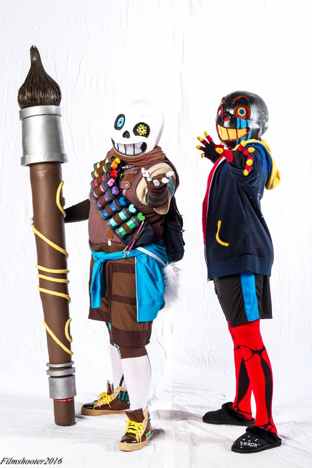[Cosplay] Ink!Sans and Error!Sans ::2016:: by NobleTanu