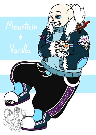 Mountain and Vanilla (Size Matters) by NobleTanu