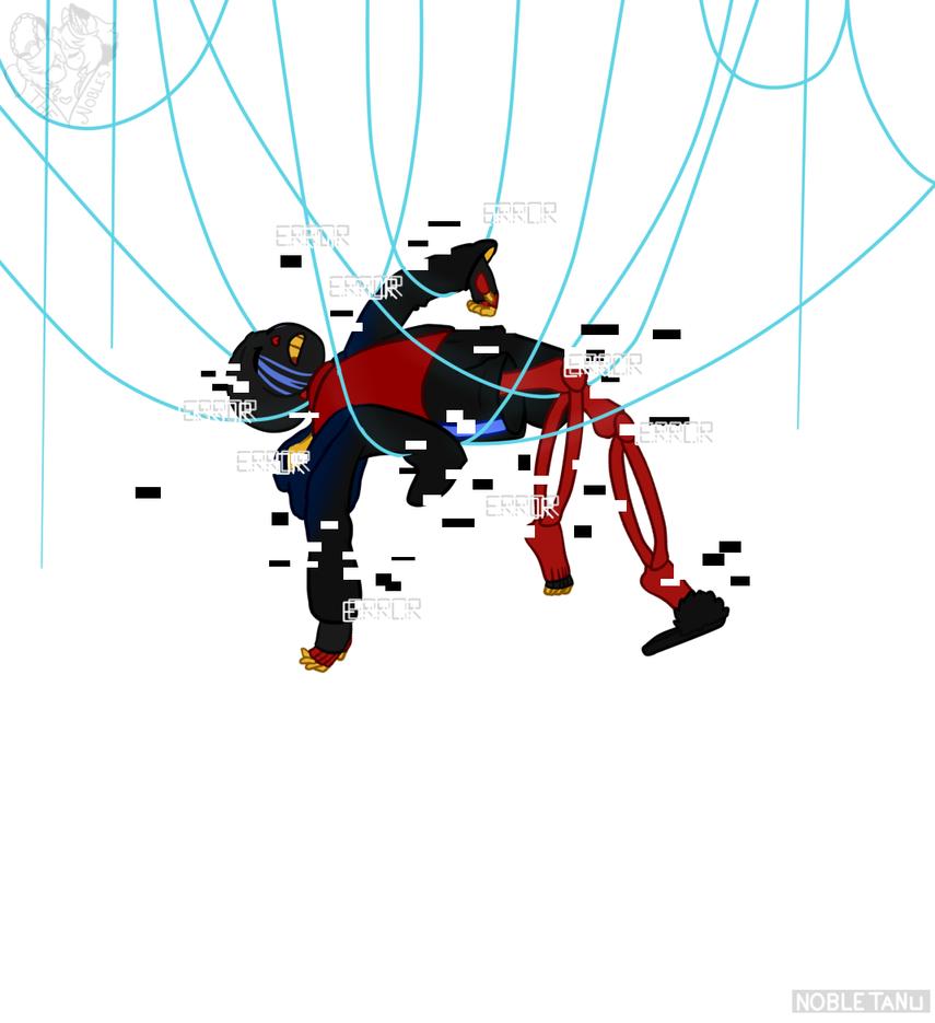 [Fan Art] Error Tied by NobleTanu