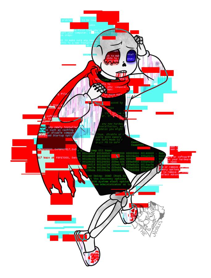 [Fan Art] Fatal Error by NobleTanu