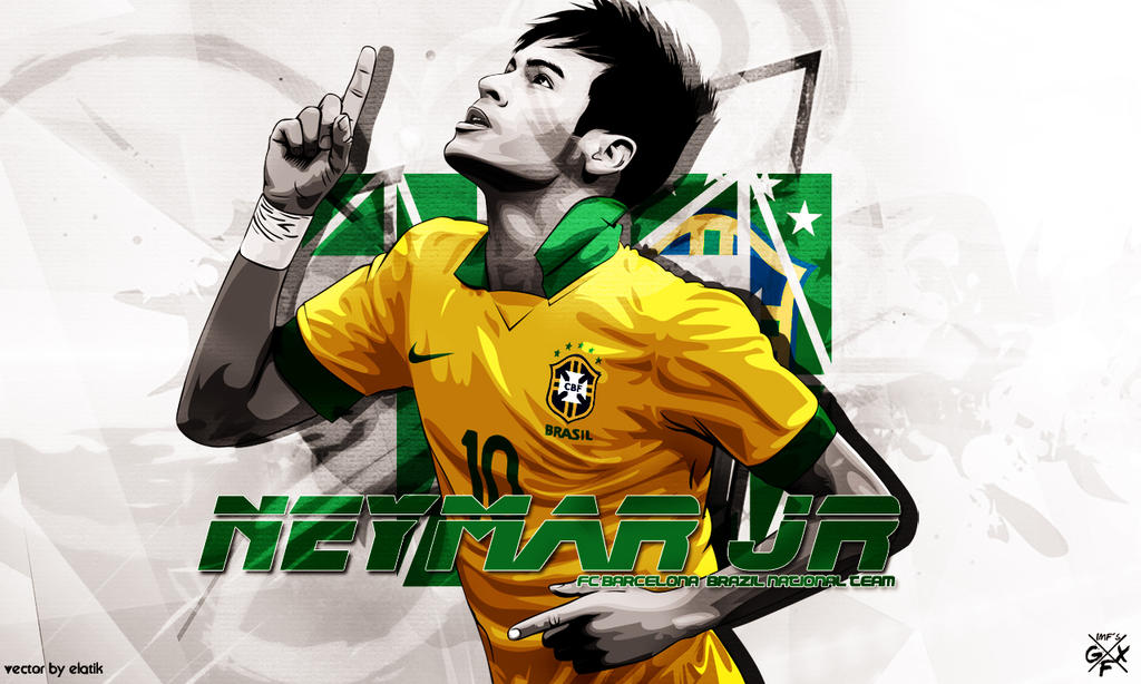 Neymar Jr 2014 Wallpaper