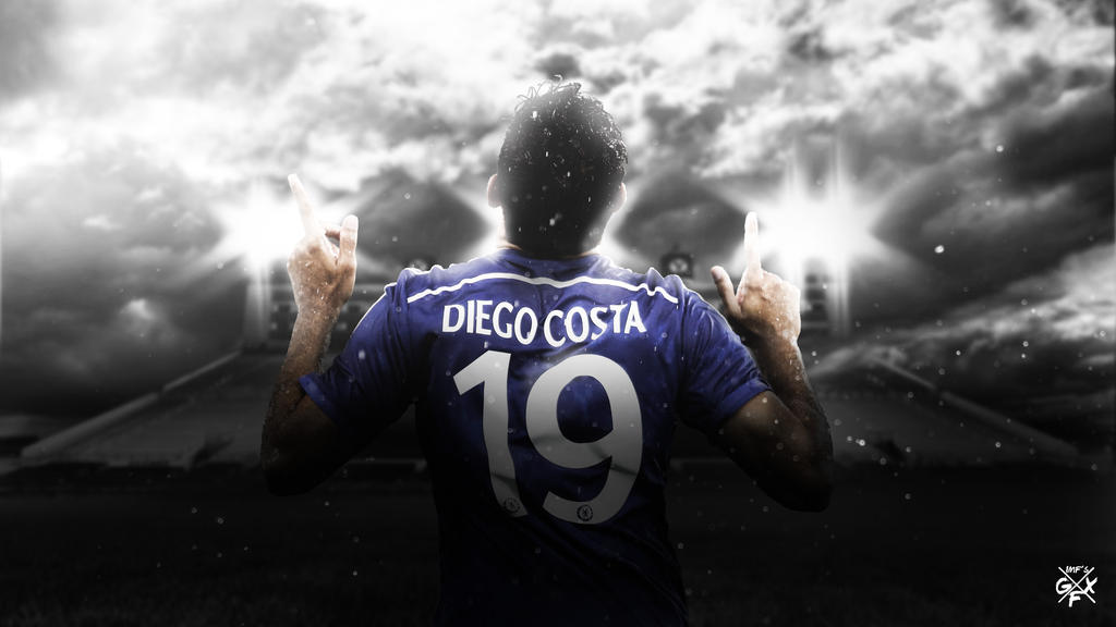 Diego Costa Wallpaper By ImfGFX