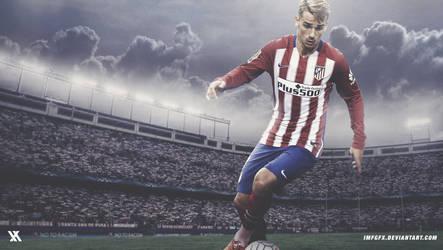 Antoine Griezmann - Atletico Madrid 2016 Wallpaper