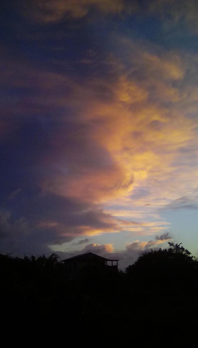 December sunset, Belize City,Belize by Animeblu