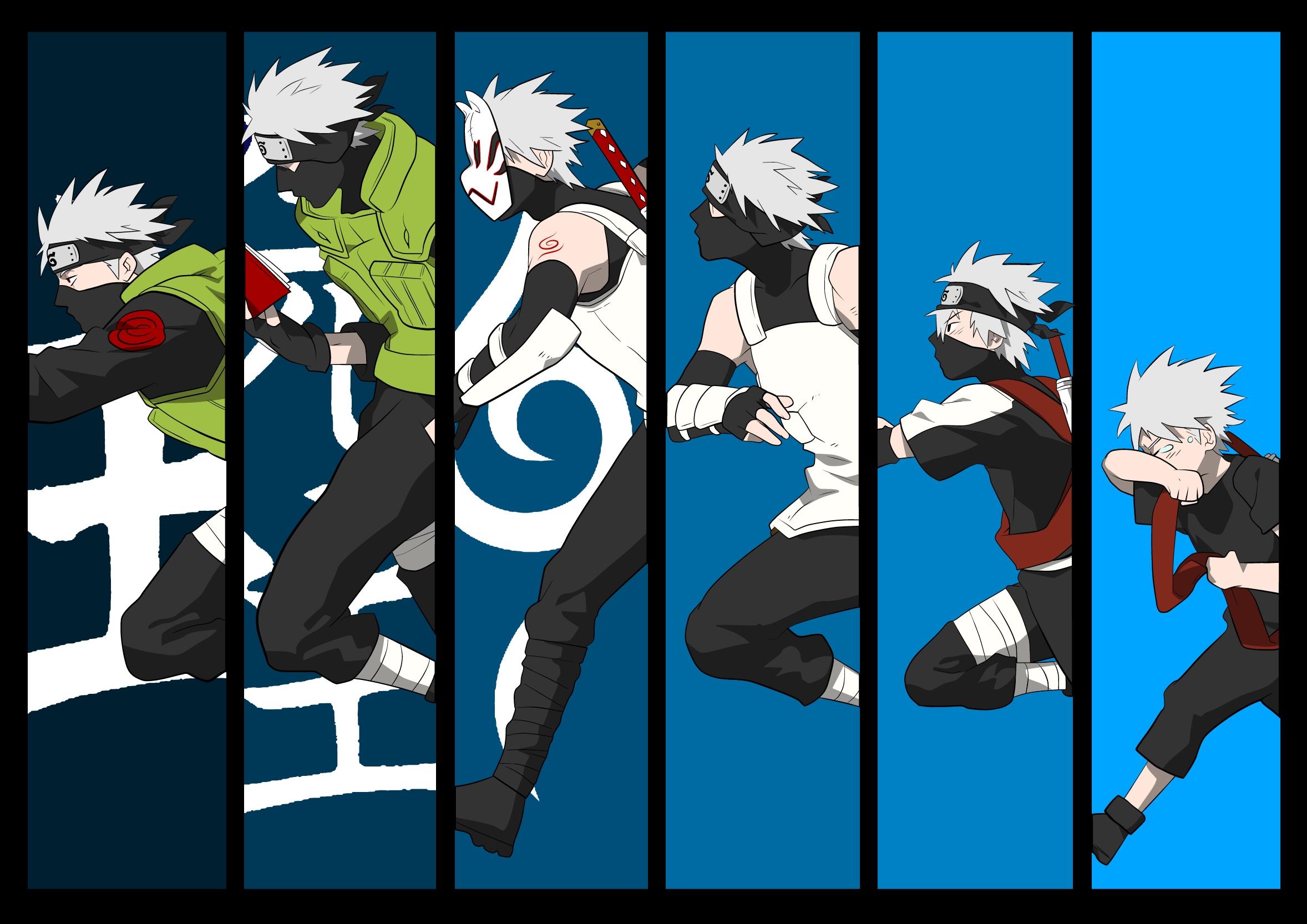 Kakashi Hatake Evolution Wallpaper
