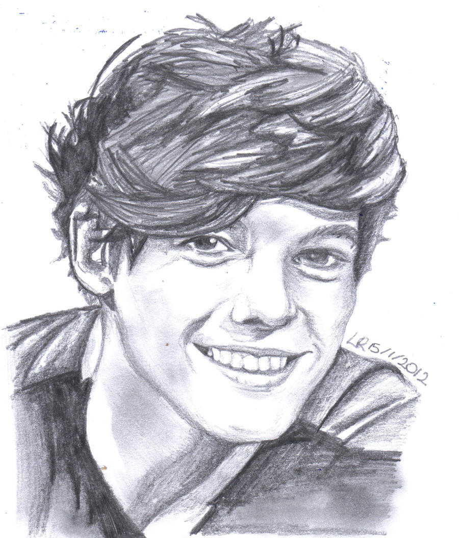 Louis from one direction by lu siobhan
