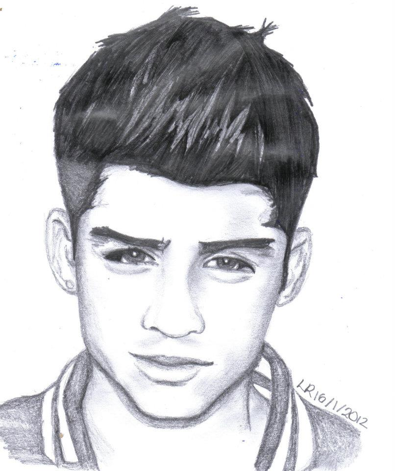 zayn from one direction by lu one direction coloring pages zayn