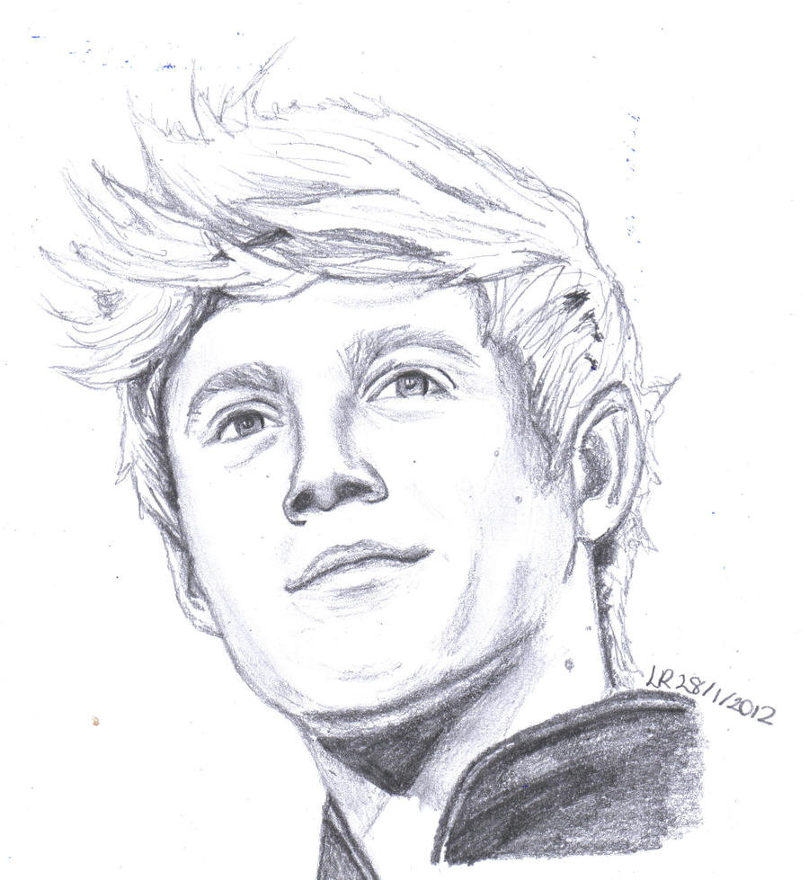 Coloring pages for one direction -  Niall Horan From One Direction By Lu Siobhan
