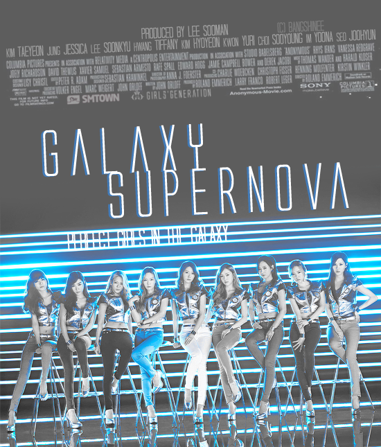 130906 | Galaxy Supernova Movie poster. by LaiilaNana