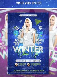 Winter Warm Up Flyer by AddictedToLucid
