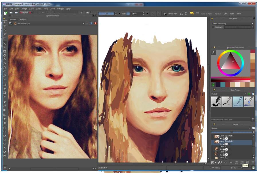 Portraits by aconitum-est