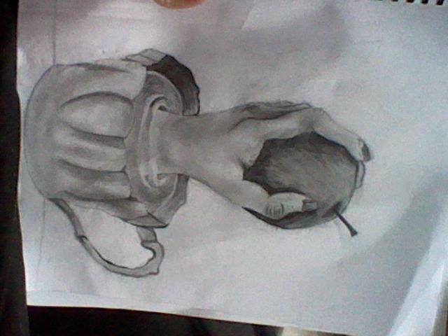 I drew this last year XD by linkwolfspirit