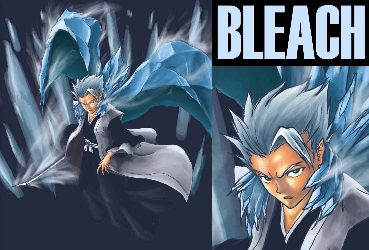 Bleach Captain Hitsugaya By CYLex