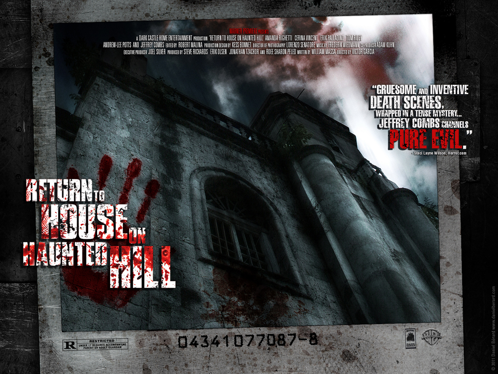 Return to house on haunted hill by neverdying on deviantart for The house returns
