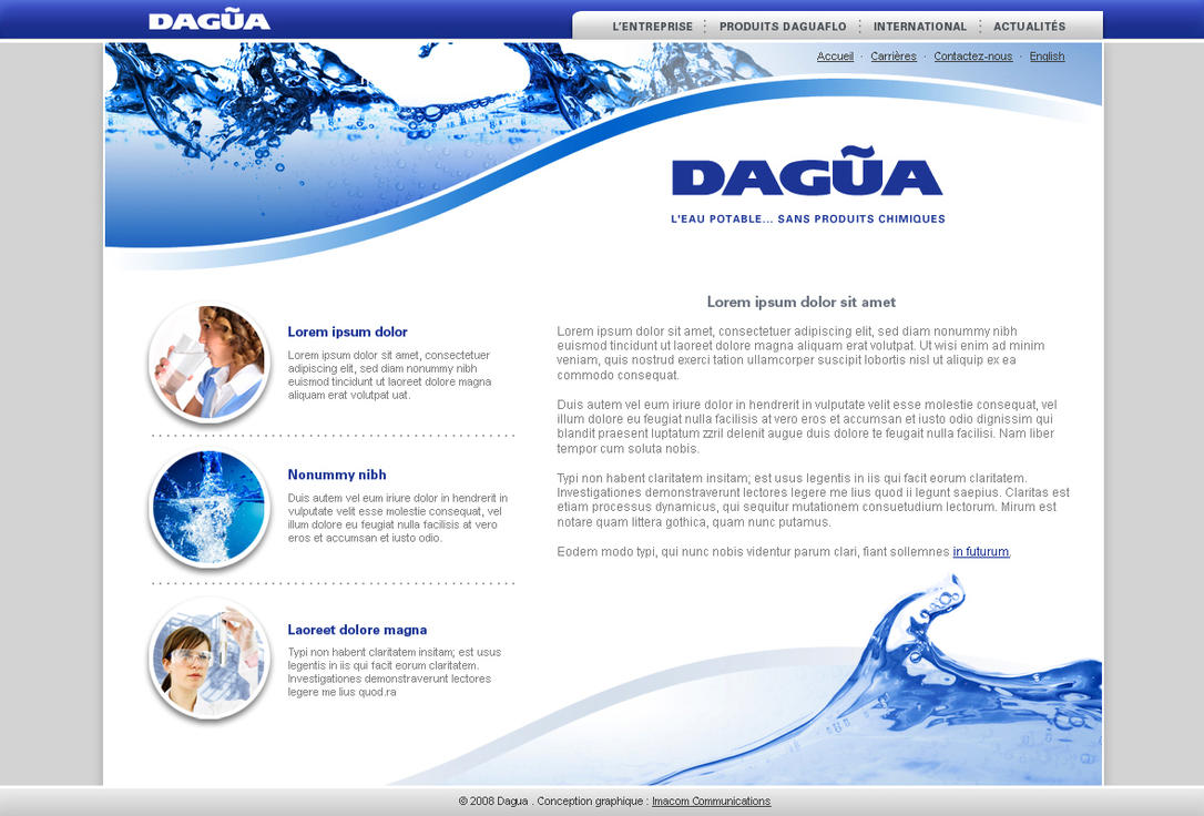 Dagua web site by neverdying
