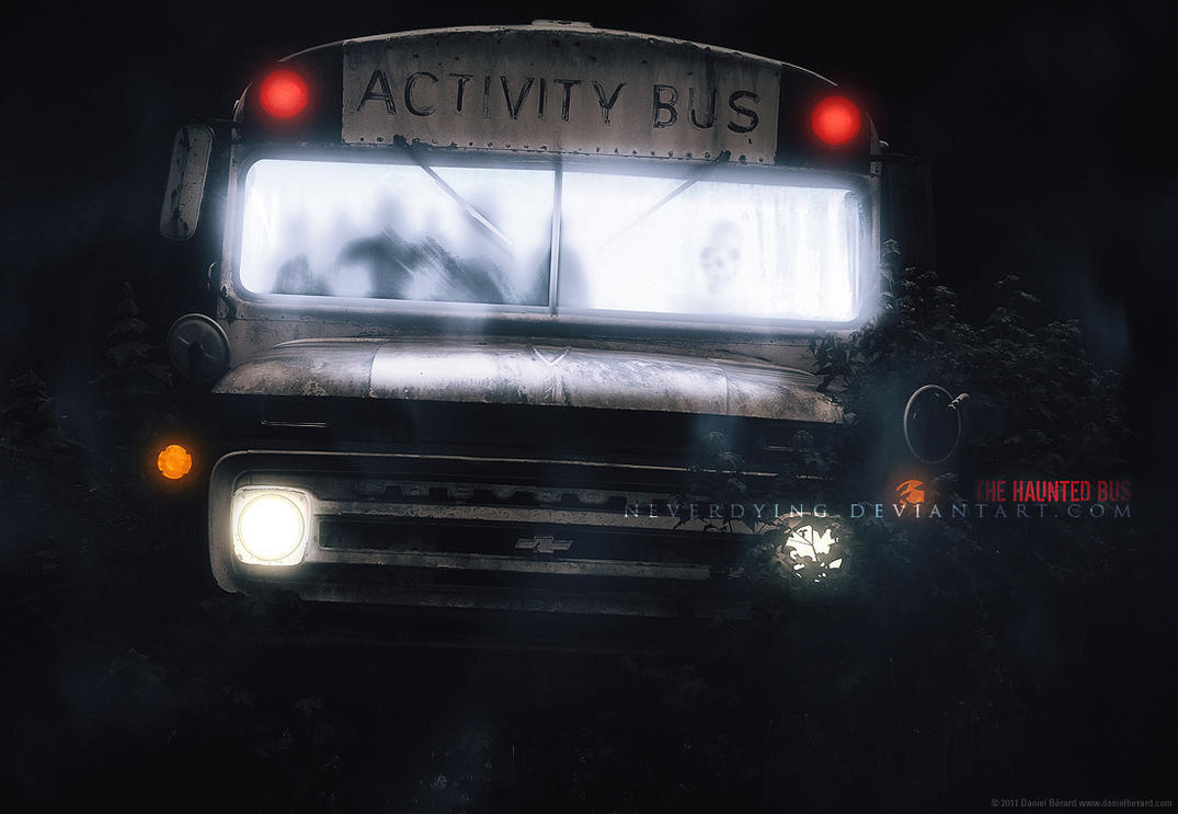 the haunted bus by neverdying on deviantart