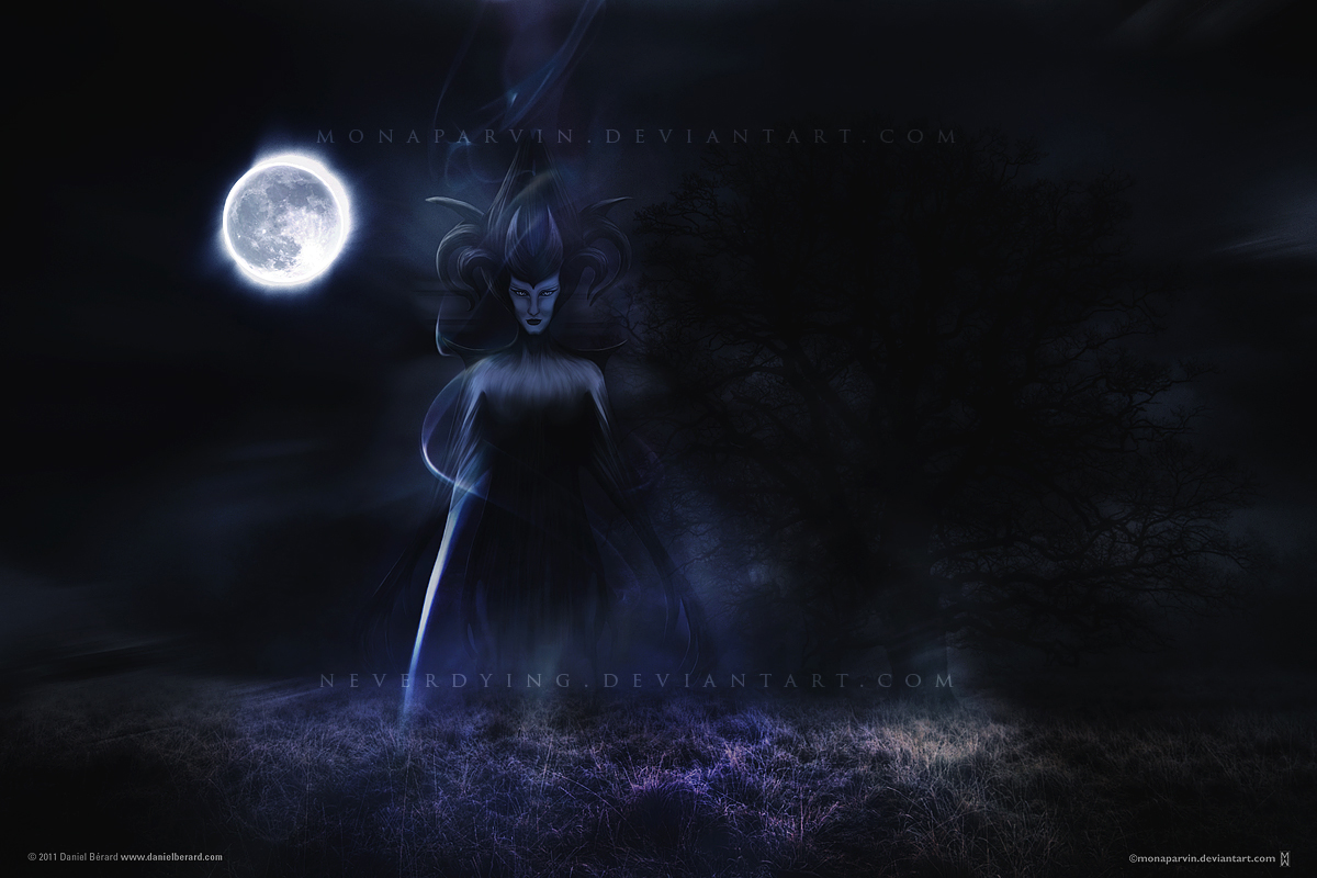 Guardian of the Night - collaboration by neverdying