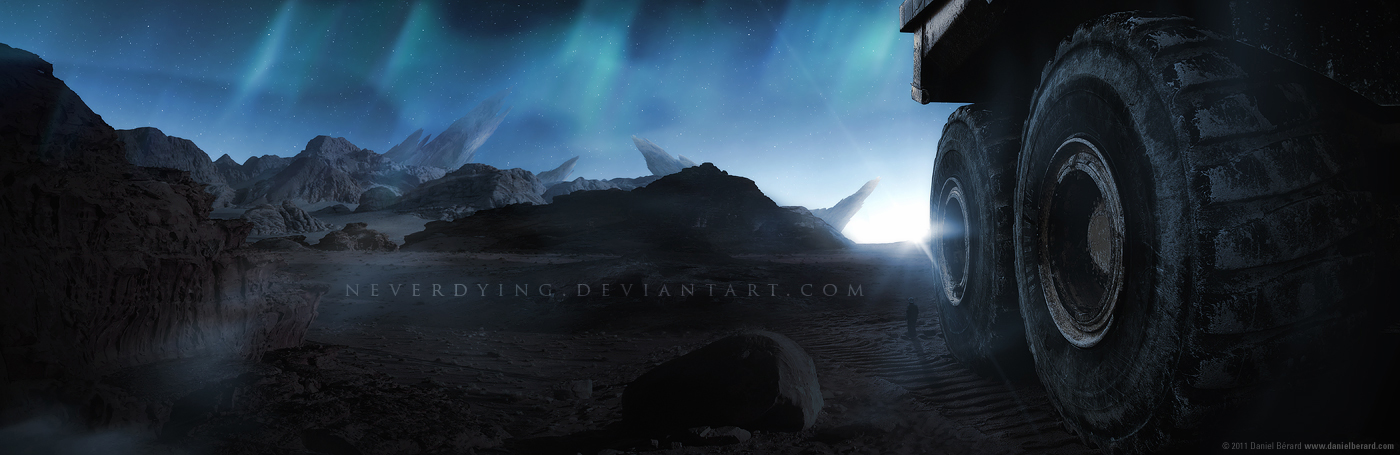The Mining Station by neverdying