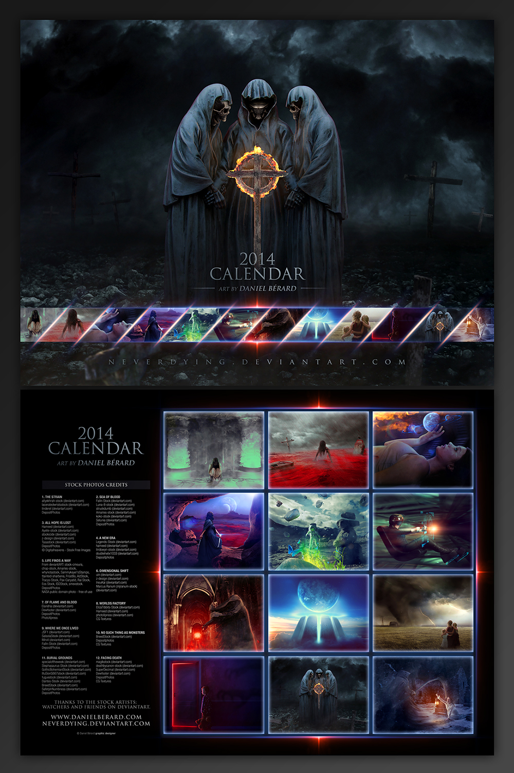 2014 Calendar * Now Available * by neverdying