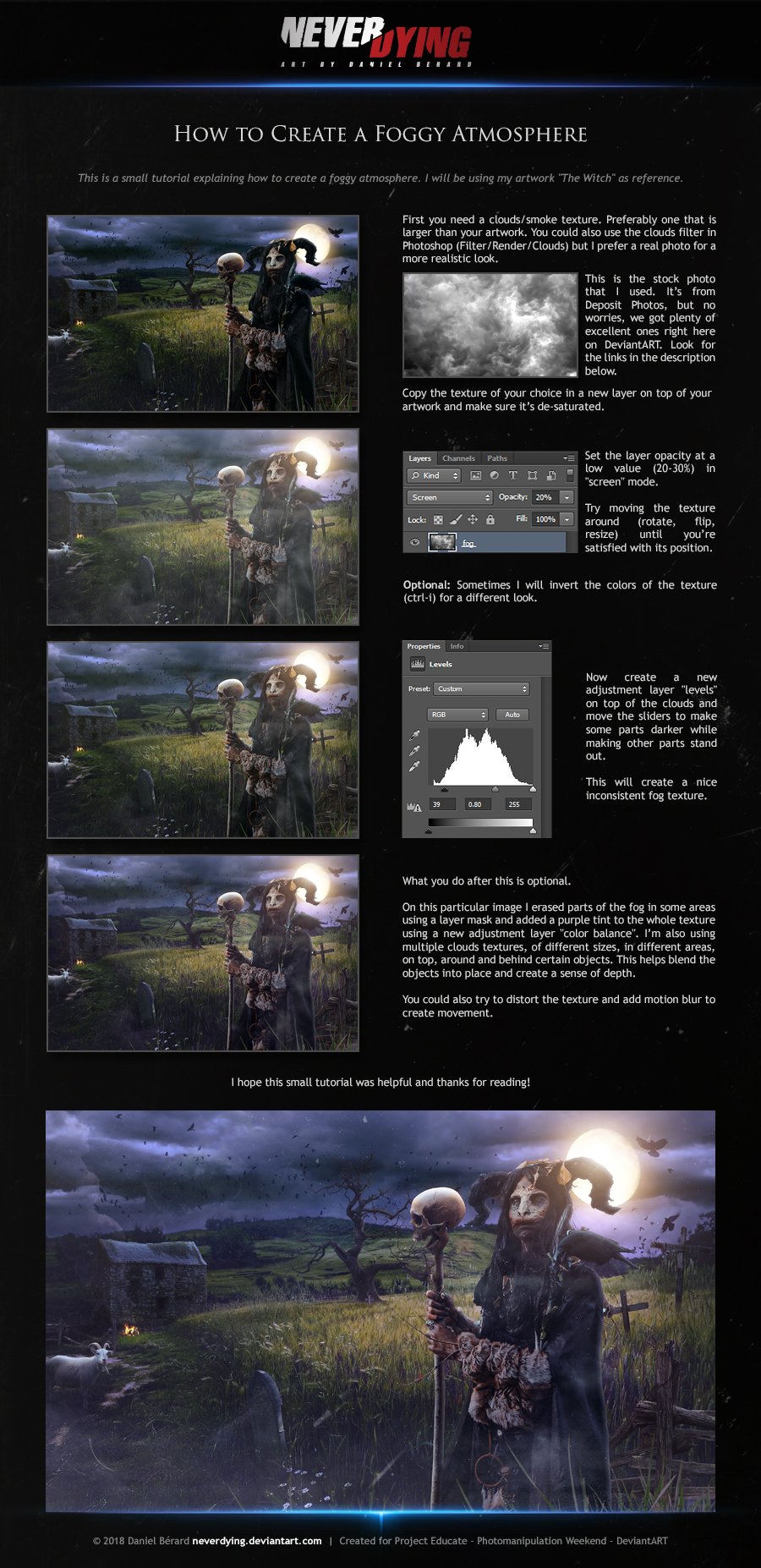 Tutorial - How to create a foggy atmosphere