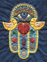 Blessing Hand I - center detail
