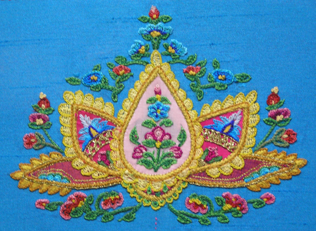 Paisley Lotus Tambour Embroidery By Isiscat777 On Deviantart