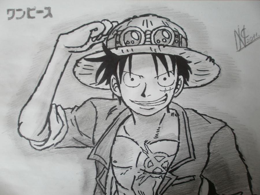 Monkey D Luffy Drawing By Supernikolai1996 On Deviantart