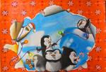 Penguins of Madagascar Drawing