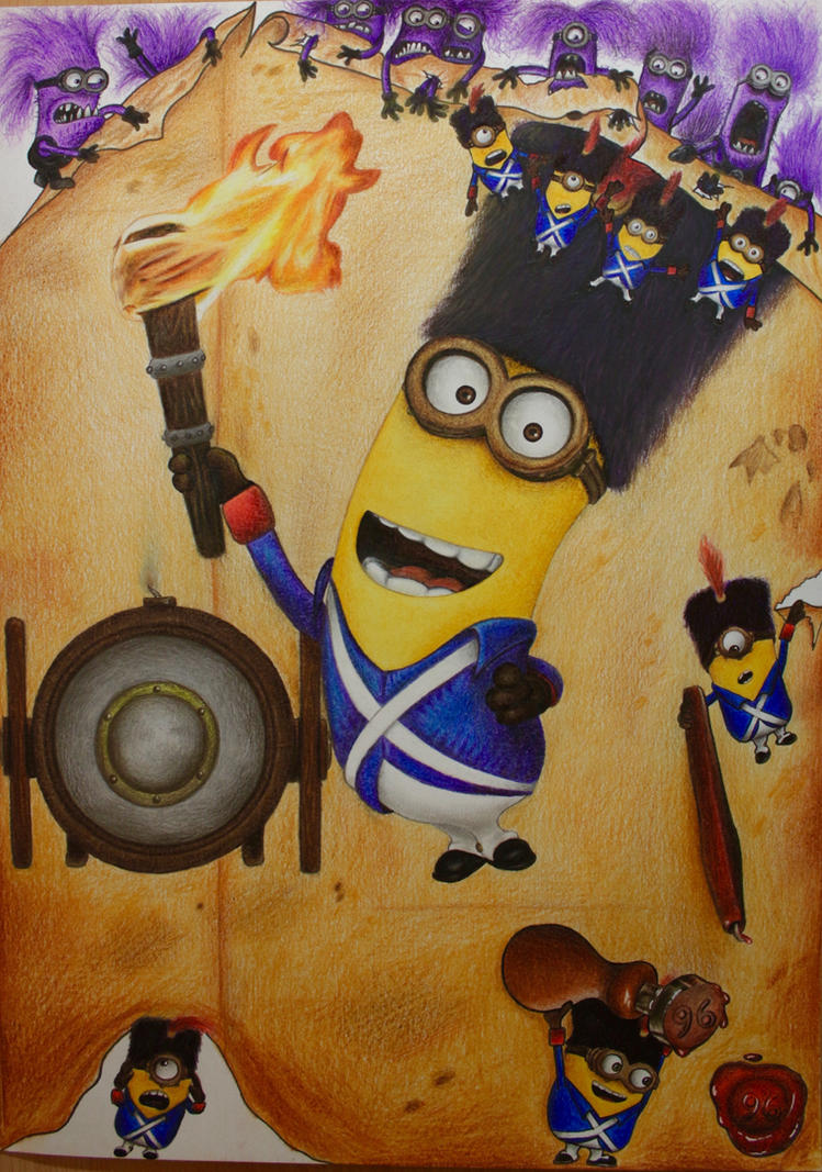 Drawing Kevin the Minion from the Movie Minions by SuperNikolai1996