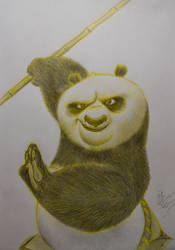 Po the panda from Kung Fu Panda 3