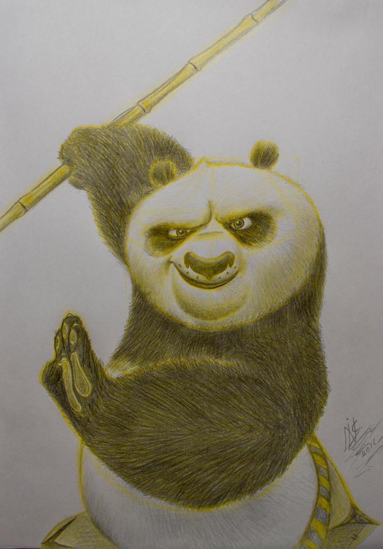 Po the panda from Kung Fu Panda 3 by SuperNikolai1996