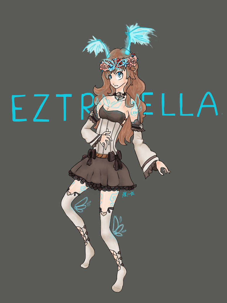 Eztrella the eliatrope- by aklasha354