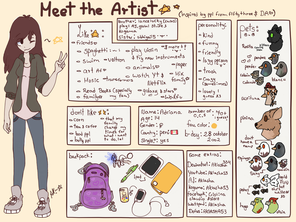 Meet the artist! - Aklasha - by aklasha354