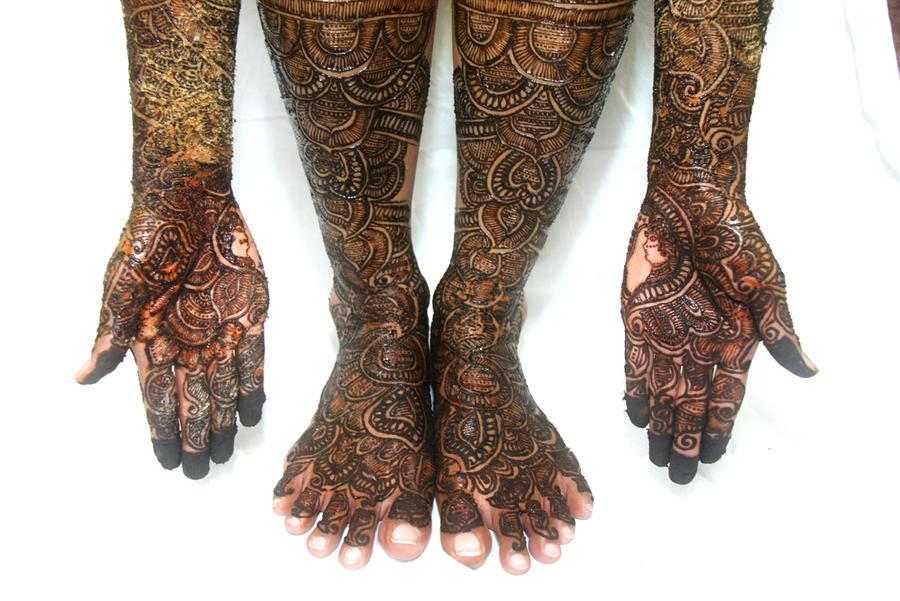 Pin Pin Pakistani Bridal Mehndi Tattoo Design Picture To Pinterest On ...