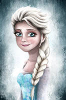 Elsa (Frozen) by Dalya43