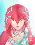 Princess Mipha by Dalya43