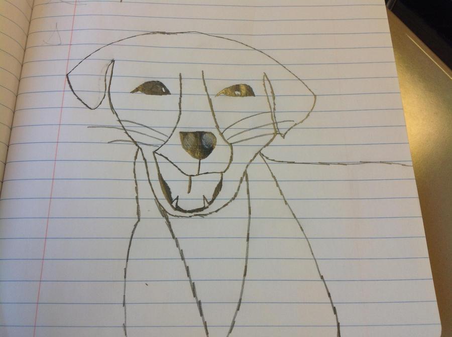 Cute Puppy I Drew by SexySecret13