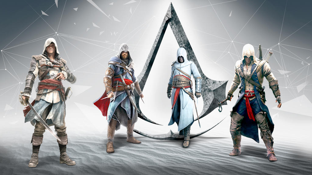 Assassins creed wallpaper by thedemonknight on deviantart assassins creed wallpaper by thedemonknight voltagebd Gallery
