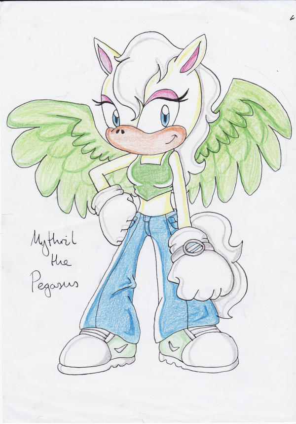 Mythril the Pegasus Request by ChaosAngel5
