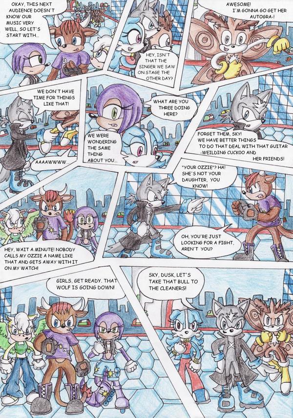 Team Moonlight Scene 2 by ChaosAngel5