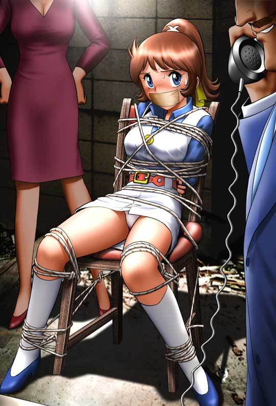 Anime Girl Tied And Gagged By Jude On Deviantart