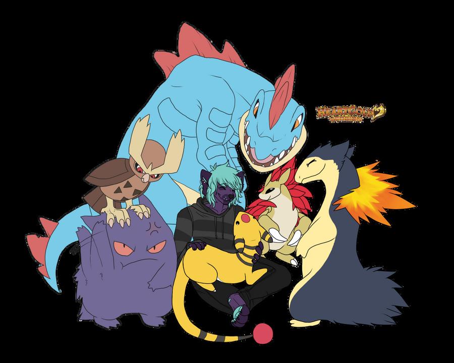 Pokemon Heartgold Team By Mute-owl On DeviantArt