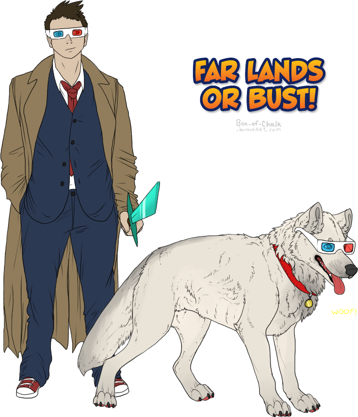 Far Lands or Bust! by mute-owl