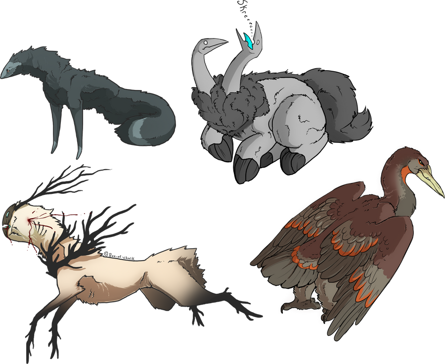 Mythical Creatures By Mute Owl On Deviantart