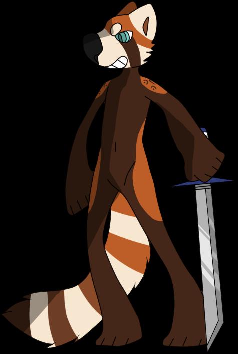 Fuzzy Samurai by mute-owl