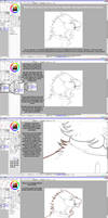 How to digitally color traditional art - Part 1