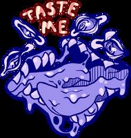 TASTE ME by mute-owl