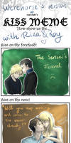 Kiss Meme with Riza and Roy
