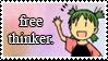 free thinker by kataimiko